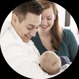 Familie fotoshoot newborn fotoshoot